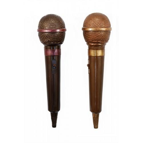"""Шоколадная фигура """"Микрофон"""""""