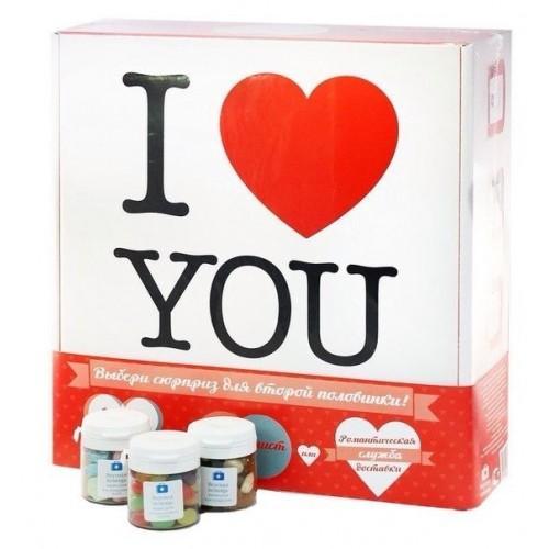Вкусная помощь подарочный набор для влюблённых